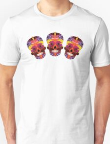 Spring Flowers Sugar Skull T-Shirt