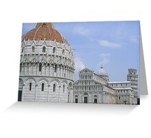 pisa Italy Greeting Card
