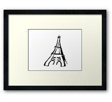 Paris - Eiffel Tower Framed Print