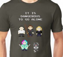 Team Dresden: It is dangerous to go alone Unisex T-Shirt