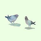 Pigeons by AvalonsAyame