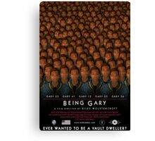 Being Gary Canvas Print