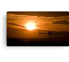 Agriculture Canvas Print