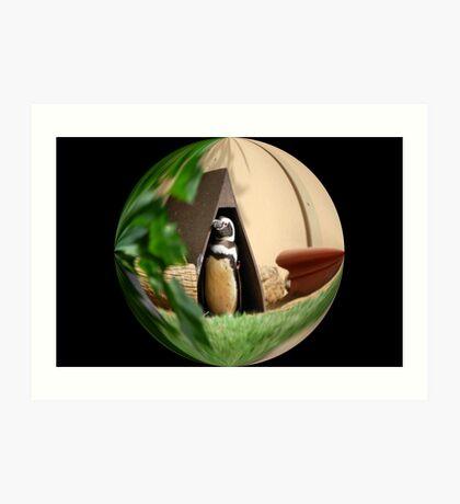 My Humble Abode: Penguin World Art Print
