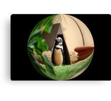 My Humble Abode: Penguin World Canvas Print