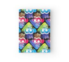 Splatoon Squid Pattern Hardcover Journal