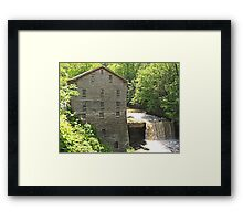 Lanterman's Mill in Spring Framed Print