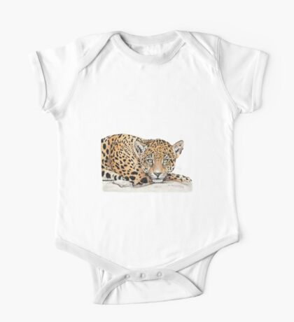 Leopard One Piece - Short Sleeve