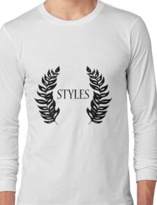 Harry Styles Leaves Crest Long Sleeve T-Shirt