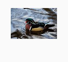 Colorful Forest Jewel - a Wood Duck in a Secluded Lake Unisex T-Shirt