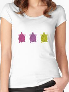 Turtles (girl) Women's Fitted Scoop T-Shirt