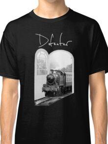 Train Through White Oak Doors Classic T-Shirt