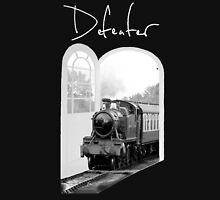 Train Through White Oak Doors Unisex T-Shirt