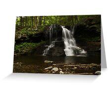 Dry Run Waterfalls-Hillsgrove, PA Greeting Card