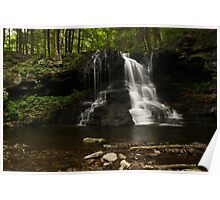 Dry Run Waterfalls-Hillsgrove, PA Poster
