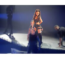 Ariana Grande at the Honeymoon Tour Photographic Print