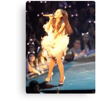Ariana Grande at the Honeymoon Tour Canvas Print