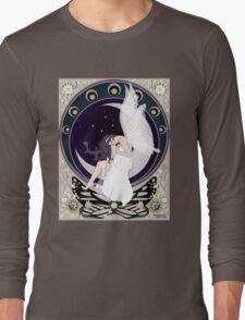 Fairy art nouveau Long Sleeve T-Shirt