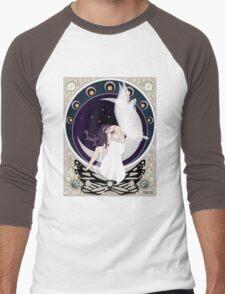 Fairy art nouveau Men's Baseball ¾ T-Shirt