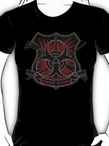 Zombie hunter shield T-Shirt