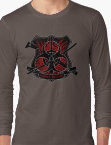 Zombie hunter shield Long Sleeve T-Shirt