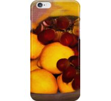 Still Life is Just a Bowl of Fruit iPhone Case/Skin