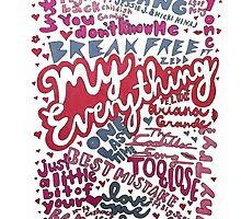 My Everything- Ariana Grande Collage by eliannadraws