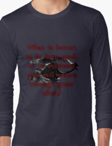 Paarthurnax Wisdom Long Sleeve T-Shirt