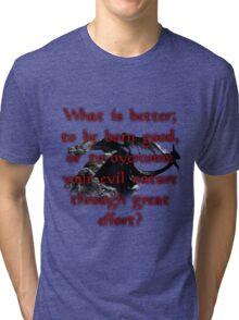 Paarthurnax Wisdom Tri-blend T-Shirt
