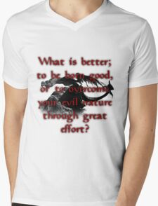 Paarthurnax Wisdom Mens V-Neck T-Shirt