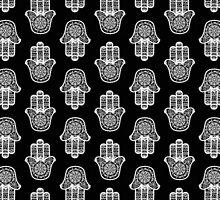Hamsa Hand Pattern by LaurelMae