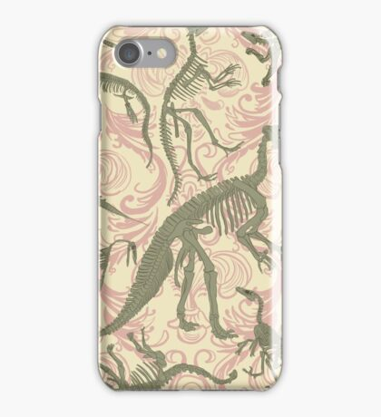 Paleontology Party iPhone Case/Skin