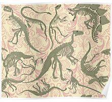 Paleontology Party Poster