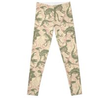 Paleontology Party Leggings
