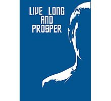 Live Long and Prosper Photographic Print