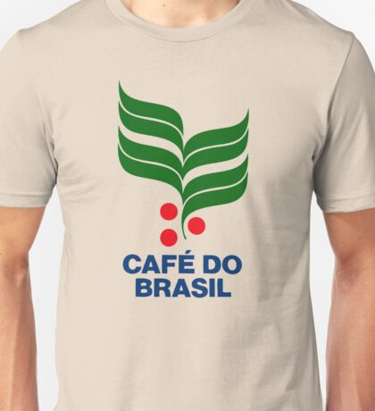 CAFE DO BRASIL Unisex T-Shirt
