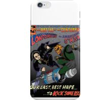 Battle of the 23rd Century! iPhone Case/Skin