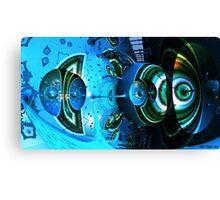 Tuberland Aqua Canvas Print