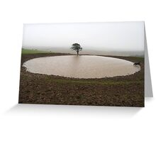 Pond, South Downs Greeting Card