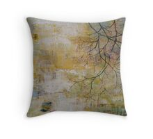 open and empty Throw Pillow