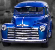 1950 Chevy Panel Truck by Lynn Geoffroy