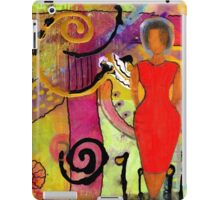Woman in Red iPad Case/Skin