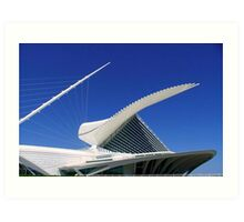 MAM...Milwaukee Art Museum ©  Art Print