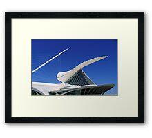 MAM...Milwaukee Art Museum ©  Framed Print