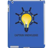 Captain Knowledge iPad Case/Skin
