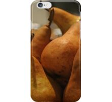 Beurre Bosc pears iPhone Case/Skin