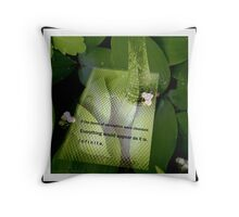 It's All Illusion: Lily of the Valley (multi-exposure) Throw Pillow