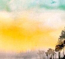 Twilight on Egdon Heath.. Sticker