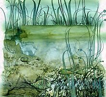 underwater world by pentangled