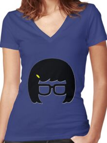 Tina Women's Fitted V-Neck T-Shirt